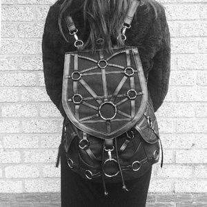 O-RING BACKPACK Harness Restyle GOTH